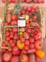Miel et tomates